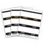 C-Line Products Inkjet/Laser Printer STAFF Name Badge Inserts, 4 x 3 CLI92801