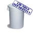 Continental Huskee™ 20 Gallon Waste Receptacles CON2000WH