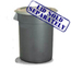 Continental Huskee™ 44 Gallon Waste Receptacles CON4444GY