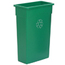 Continental Wall Hugger™ Recycling Receptacles CON8322-2