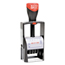 Consolidated Stamp Self-Inking Heavy-Duty Line Dater with Microban, 1.25