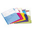 Cardinal Brands Cardinal® Poly Index Dividers for Ring Binders CRD84016