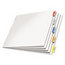 Cardinal Brands Cardinal® Paper Insertable Dividers CRD84814