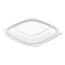 Dart Dart® PresentaBowls® Pro™ Clear Square Bowl Lids DCCC2464BDL
