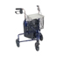 Drive Medical 3 Wheel Rollator with Basket Tray and Pouch 10289BL