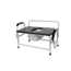 Drive Medical Bariatric Extra Wide Drop Arm Bedside Commode Seat 11132-1