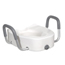 Drive Medical Raised Toilet Seat with Padded Armrests 12013