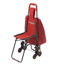 Drive Medical Deluxe Rolling Shopping Cart with Seat DRV607R