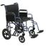 Drive Medical Bariatric Heavy Duty Blue Transport Wheelchair w/Swing Away Footrest, 1EA/CS BTR22-B