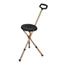 Drive Medical Folding Lightweight Cane Seat RTL10365-ADJ