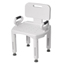 Drive Medical Premium Series Shower Chair with Back and Arms RTL12505