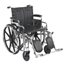 Drive Medical Sentra Extra Heavy Duty Wheelchair STD20DDA-ELR