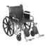 Drive Medical Sentra EC Heavy Duty Wheelchair STD20ECDDAHD-ELR