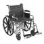 Drive Medical Sentra EC Heavy Duty Wheelchair w/Detachable Desk Arms & Swing Away Footrest STD20ECDDAHD-SF