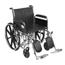 Drive Medical Sentra EC Heavy Duty Wheelchair STD20ECDFAHD-ELR