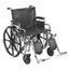 Drive Medical Sentra Extra Heavy Duty Wheelchair STD22DDA-ELR