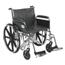Drive Medical Sentra EC Heavy Duty Wheelchair STD22ECDFA-SF