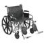 Drive Medical Sentra EC Heavy Duty Wheelchair STD24ECDDA-ELR