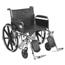 Drive Medical Sentra EC Heavy Duty Wheelchair STD24ECDFA-ELR