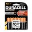 Duracell Duracell® Coppertop® Alkaline Batteries DURMN1500B10Z