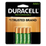 Duracell Duracell® Rechargeable NiMH Batteries with Duralock Power Preserve™ Technology DURNLAAA4BCD