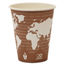Eco-Products World Art Renewable Resource Compostable Hot Drink Cups ECPEP-BHC8-WA
