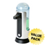 iTouchless Sensor Soap Dispenser 3D w/ Removable Container ITOESD003DCS