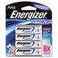 Energizer Energizer® e²® Ultimate Lithium Batteries EVEL91BP8