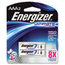 Energizer Energizer® e²® Ultimate Lithium Batteries EVEL92BP2