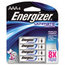 Energizer Energizer® e²® Ultimate Lithium Batteries EVEL92BP4