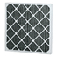 Flanders FCP Carbon Pleat - 24x24x4, MERV Rating : 7 FCP30224244