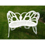 FlowerHouse Butterfly Bench White FGHFHBFB06W