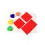 Fabrication Enterprises Allen Diagnostic Module Canvas Placemats, Pack of 6 FNT12-3151