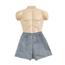 Fabrication Enterprises Dipsters® Patient Wear, Men's Boxer Shorts, Small - Dozen FNT20-1000