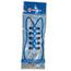 Fabrication Enterprises Elastic Shoe Laces, 2 Pair, White FNT86-1126
