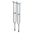 GF Health Bariatric: Imperial Steel Crutches GHI3615A