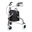 GF Health Sure-Gait II Three-Wheeled Steel Rollator GHI609101A