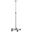 GF Health Stainless Steel Deluxe IV Stand GHI7016A
