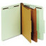 Globe-Weis Globe-Weis® Heavy-Duty Pressboard Top Tab Classification Folders GLW24076