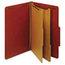 Globe-Weis Globe-Weis® Heavy-Duty Pressboard Top Tab Classification Folders GLW29075
