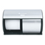 Georgia Pacific Professional Compact® Coreless Brushed Steel Side-by-Side Double Roll Tissue Dispenser GPC56796