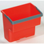 Geerpres Top Bucket, Red - 4 Liter For Modular Plastic Housekeeping Carts GPS23020R