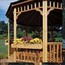 Handy Home Products Gazebo Flower Box Kit HHS19585-3