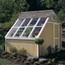 Handy Home Products Phoenix Solar Shed 10' x 8' With Floor Kit HHS18160-3