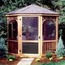 Handy Home Products San Marino 12' and Monterey 10' x14' Gazebo - Screens with Door HHS19936-3