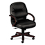 HON HON® 2190 Pillow-Soft® Wood Series Managerial Mid-Back Swivel/Tilt Chair HON2192NSR11