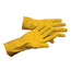 Hospeco General Purpose Flock Lined Latex Gloves - Small HSCGL-L116LS