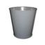 Impact 28-Quart Round Metal Wastebasket IMP1302-3