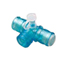 Vyaire Medical AirLife Tee with One Way Valves, 1/EA IND55004051-EA