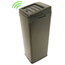 iTouchless 14 Gal. Automatic Black Touchless Trash Can® SX ITOIT14SBEA
